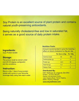 Soy Protein Isolate 90 Sachets